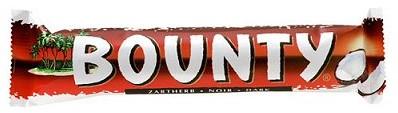 Bounty Puur doos 24 x 57 gram