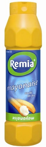Remia mayonaise fles 750 ml