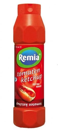 Remia tomatenkethup fles 750 ml