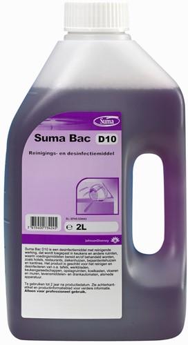 Suma Bac D10 desinfectiemiddel 1 x 2 liter