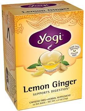 Yogi Tea Ginger Lemon bio 17 x 1,8 gr