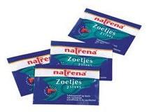 Natrena Classic Zoetjes doos 500 zakjes van 2 stuk