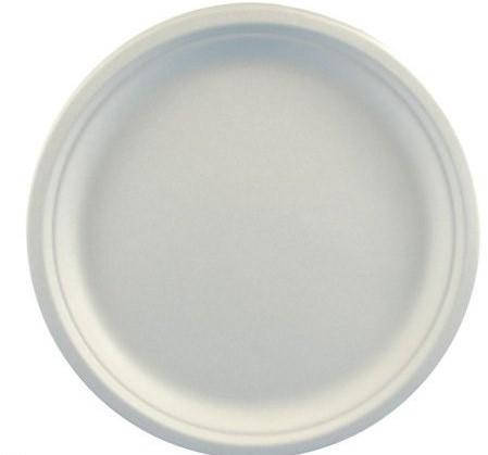 Bord Pure Riet wit 26 cm 50 st.
