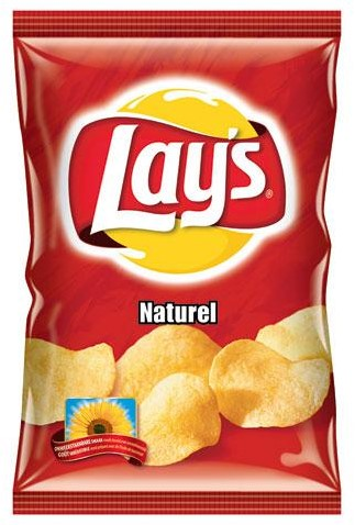 Lay's chips naturel 8 x 175 gram