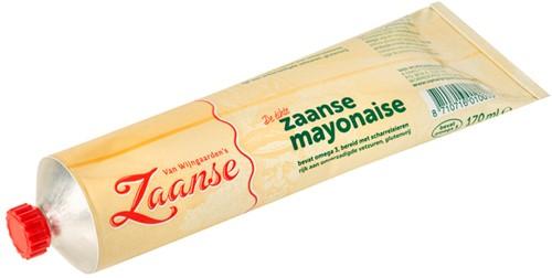 Wijngaarden Zaanse Mayonaise tube 24 x 170 ml