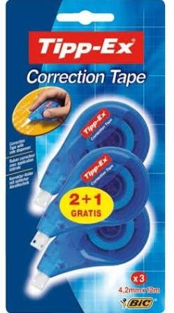 Tipp-Ex Correctie tape 2 + 1