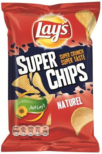 Lay's superchips naturel 20 x 45 gr