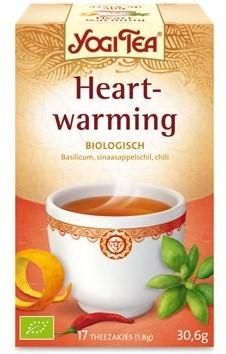 Yogi Tea Heartwarming bio 17 x 1,8 gr