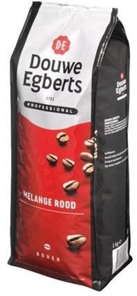 Douwe Egberts Beans melange rood pak 1 kg