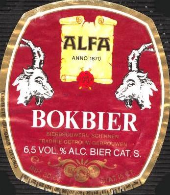Alfa Bokbier fust 20 l