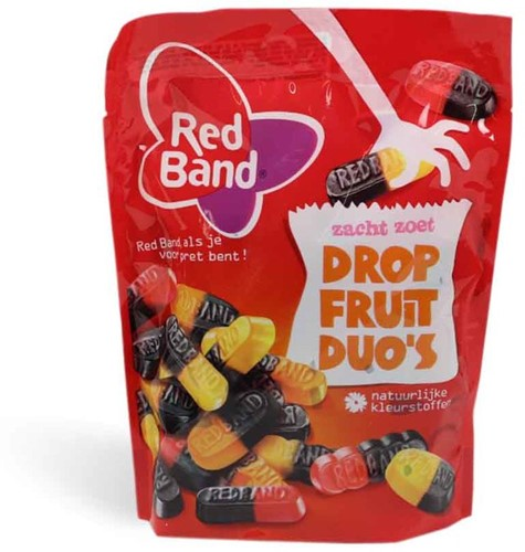 Red Band Drop Fruit duo's 24 x 100 gr