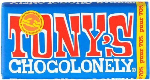 Tony's Chocolade puur reep 3 x 180 gr