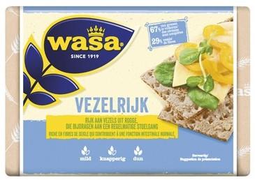 Wasa Knackebrod vezelrijk pak 6 st