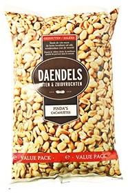 Daendels gezouten pinda's zak 1 kg