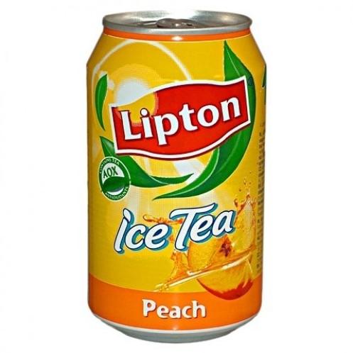 Lipton Peach (int) blik 24 x 0,33 l