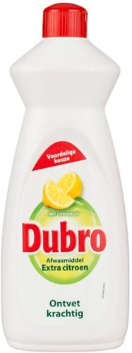 Dubro afwasmiddel fles 3 x 0,9 l extra citroen