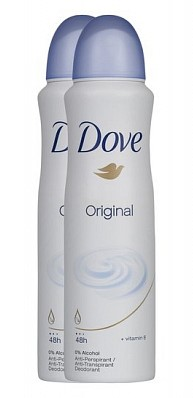 Dove deo spray 2 duo pack