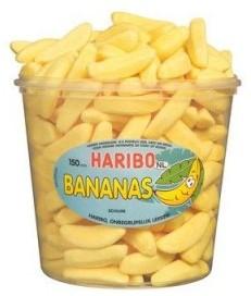 Haribo schuim bananen silo 150 st