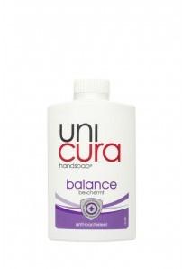 Unicura vloeib. handzeep balance navul. 6 x 250 ml