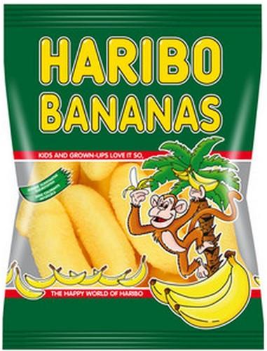 Haribo Bananen zakje 30 x 75 gr