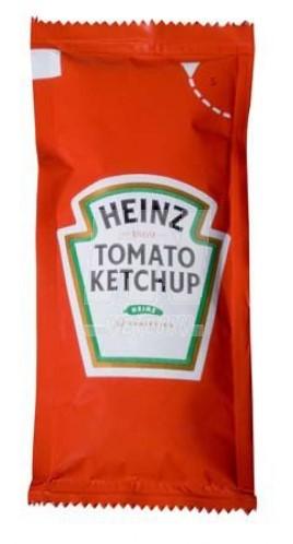 Heinz tomatenketchup zakjes doos 100 st