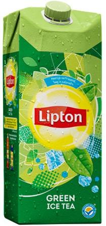 Lipton Ice Tea clear green pak tetra 8 x 1,5 l