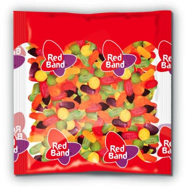 Red Band winegum assorti zak 1 kg