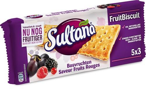 Verkade Sultana bosvruchten doos 6 pakken
