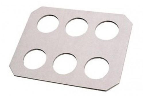 Draagplateau karton wit doos 150 st