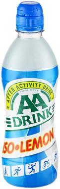 AA-Drink Iso-lemon tray pet 12 x 0,5 l