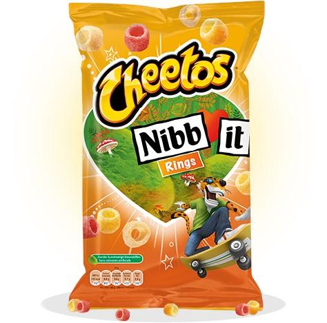 Cheetos Nibb-it sticks doos 30 x 22 gr