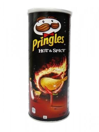 Pringles Hot & Spicy bus 3 x 165 gr