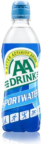 AA Drink sportwater doos 12 x 0,5 l