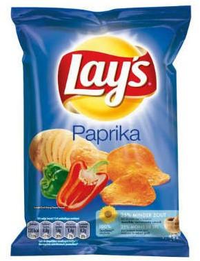 Croky chips paprika 20 x 40 gr