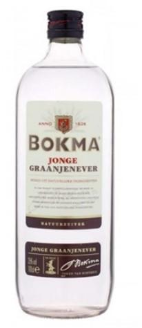 Bokma Jonge Jenever fles 1 l rond