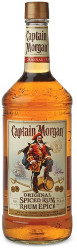 Captain Morgan spiced rum fles 1 l