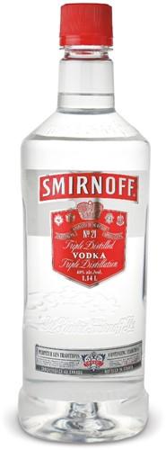Smirnoff Vodka fles 1 l