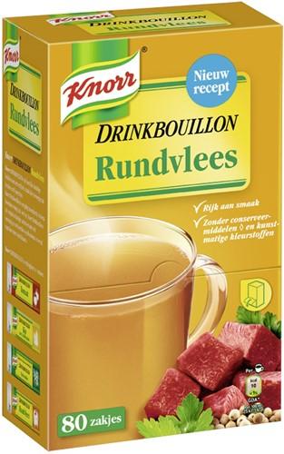 Knorr drinkbouillon 80 st rundvlees