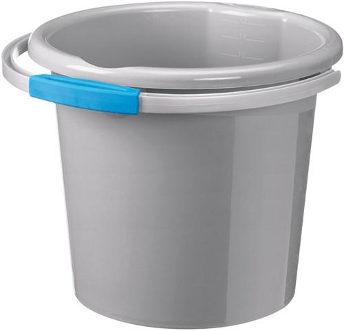 Sunware Waterline emmer zilver 12 liter