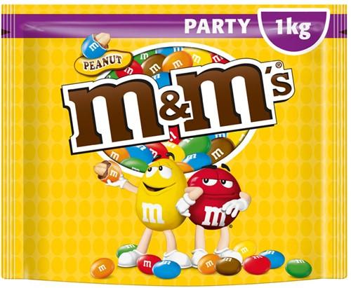 M & M's partypack pinda zak 1 kg