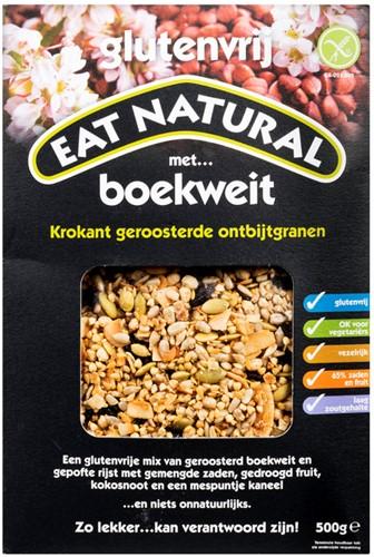 Eat Natural Ontbijtgranen Boekweit/Glutenvrij 500g