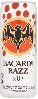 Bacardi Razz & Up blik 12 x 0,25 l