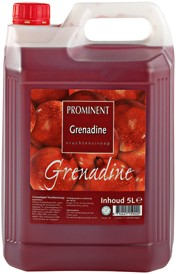 Prominent Limonadesiroop can 5 l grenadine