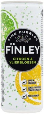 Finley Citroen-Vlierbes blik 6 x 25 cl