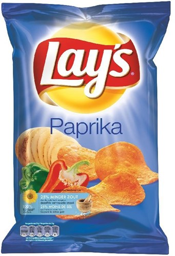 Lay's chips paprika 8 x 175 gr.