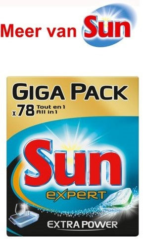 Sun Tabs all in one extra power pak 78 st