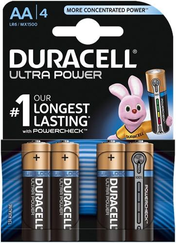 Duracell ultra power AA 4 st
