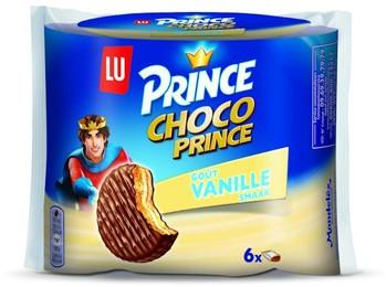 Lu Choco Prince vanille doos 4 x 6 st