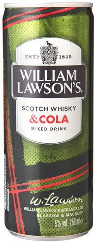 William Lawson & Cola 24 x 0,25 l