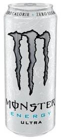 Monster ultra energy white blik 12 x 0,5 l